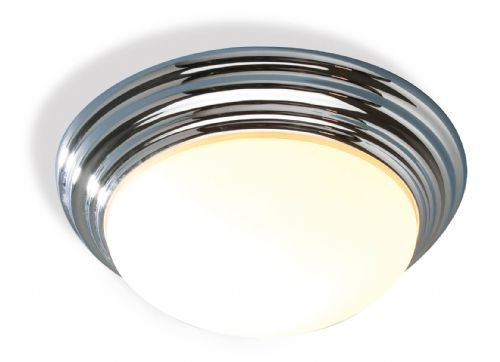 Barclay Chrome IP44 Flush Ceiling Light BAR5050 (052086)